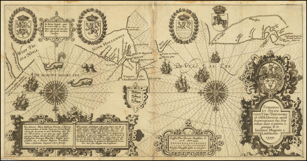 12-Polar Maps and Russia Map By Willem Barentsz
