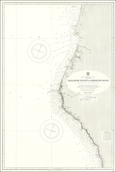 72-California Map By British Admiralty