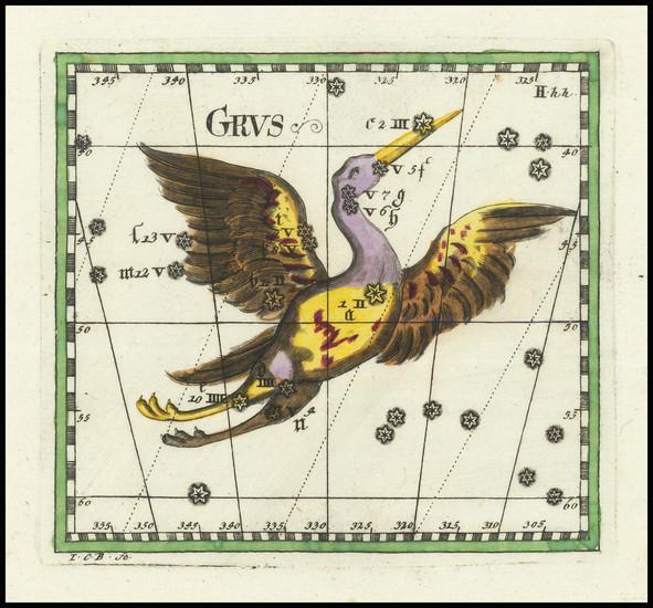 23-Celestial Maps Map By Corbinianus Thomas