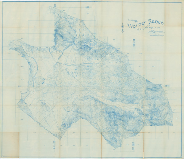 78-San Diego Map By Volcan Land & Water Co.