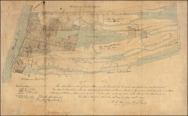 50-South Carolina Map By W.L. Brunson
