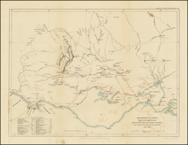 25-Australia Map By John Arrowsmith
