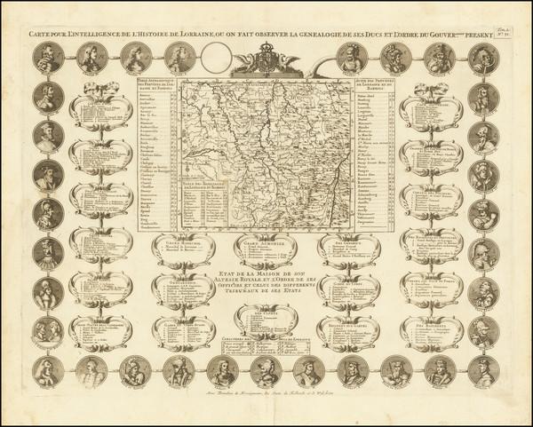1-France Map By Henri Chatelain