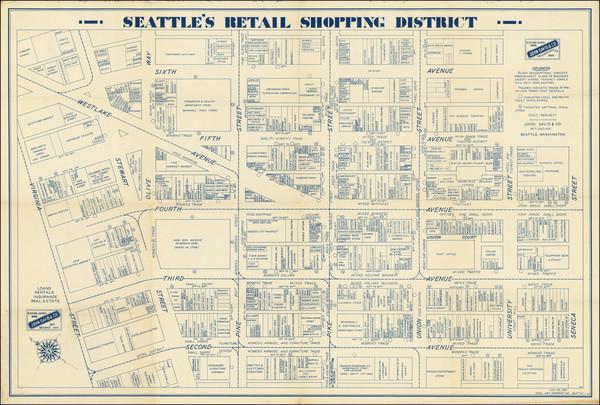 26-Washington Map By John Davis & Co.