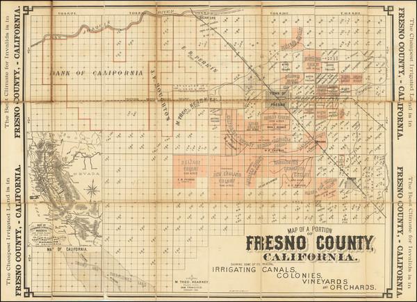 50-California Map By Martin Theodore Kearney