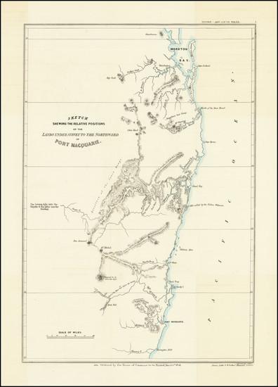 43-Australia Map By John Arrowsmith