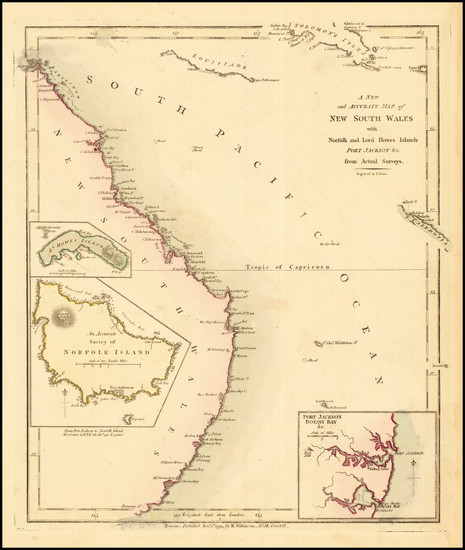 40-Australia, Oceania, New Zealand and Other Pacific Islands Map By Robert Wilkinson