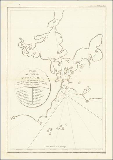 43-San Francisco & Bay Area Map By Jean Francois Galaup de La Perouse
