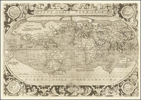 44-World Map By Hernando de Solis