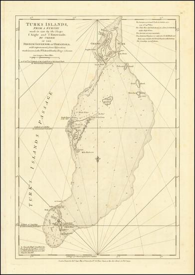 88-Caribbean Map By Robert Sayer