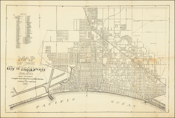 85-Other California Cities Map By E.P. Dewey