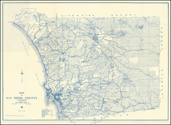 34-San Diego Map By Rodney Stokes