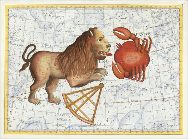 37-Celestial Maps Map By Johann Elert Bode