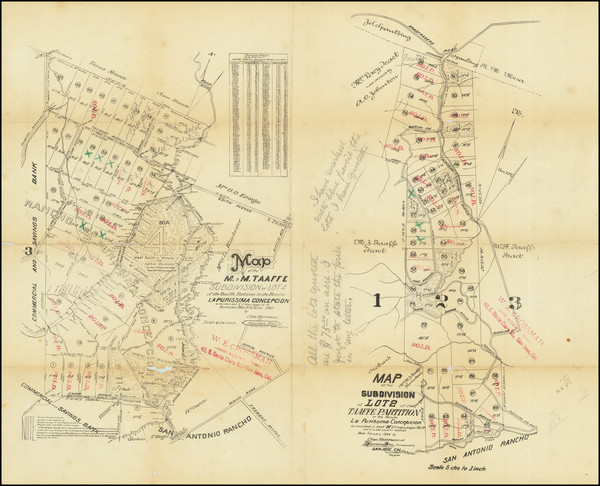 58-San Francisco & Bay Area and Other California Cities Map By Hermann Bros