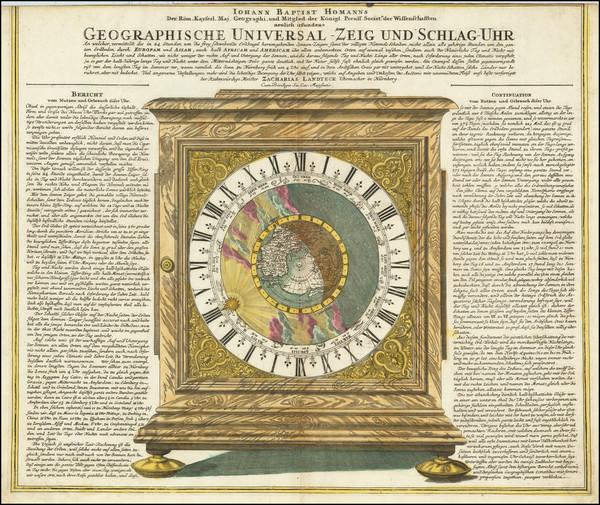 98-Northern Hemisphere, Polar Maps, California as an Island, Celestial Maps and Curiosities Map By