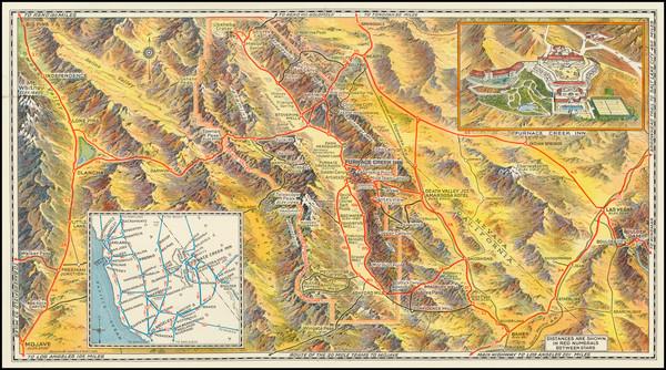 82-California Map By Gerald A. Eddy