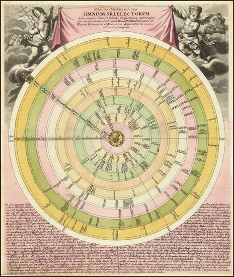 91-Curiosities Map By Christoph Weigel