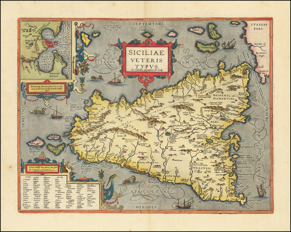 82-Sicily Map By