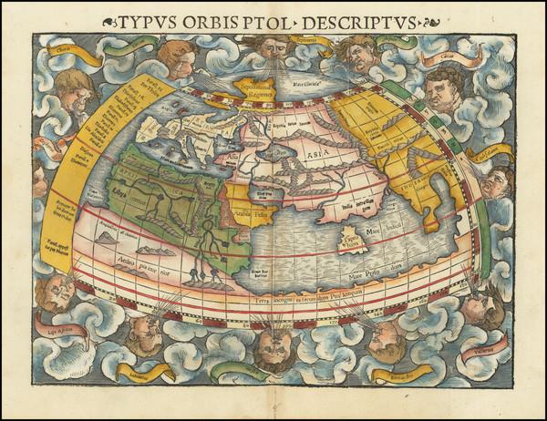 15-World Map By Sebastian Munster