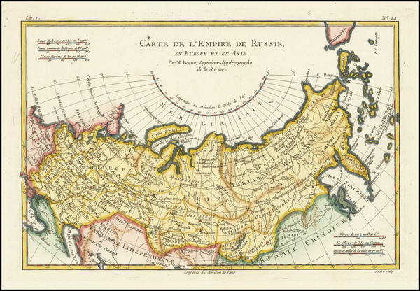 25-Russia and Russia in Asia Map By Rigobert Bonne