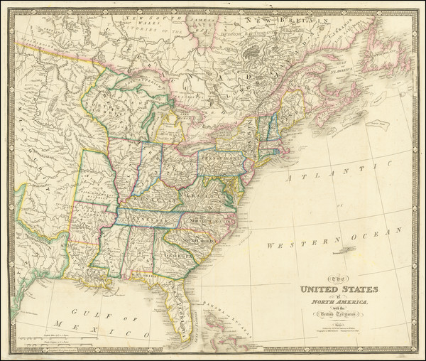 66-United States, Midwest and Plains Map By James Wyld