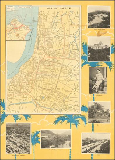 19-China Map By Japan Tourist Bureau