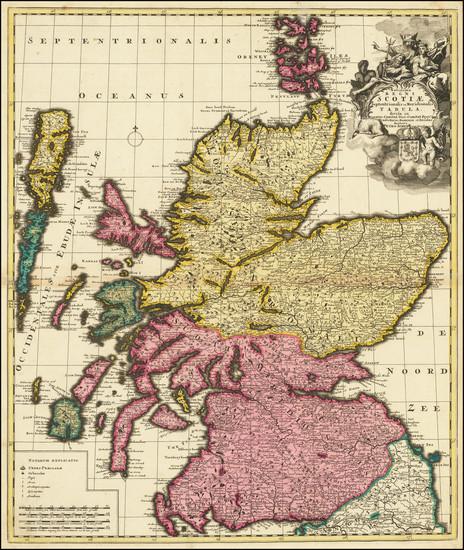 65-Scotland Map By Peter Schenk