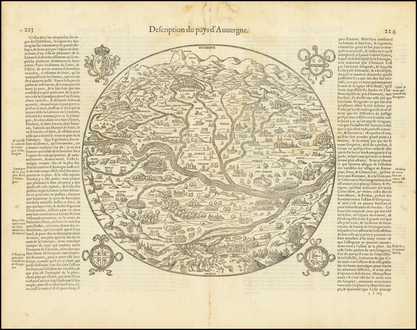 18-Other French Cities Map By Francois De Belleforest