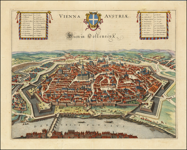94-Austria Map By Jan Jansson