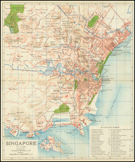58-Singapore Map By Anonymous