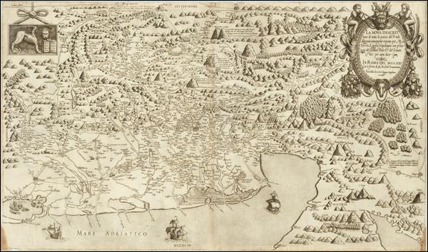 85-Croatia & Slovenia and Northern Italy Map By Pirro Ligorio