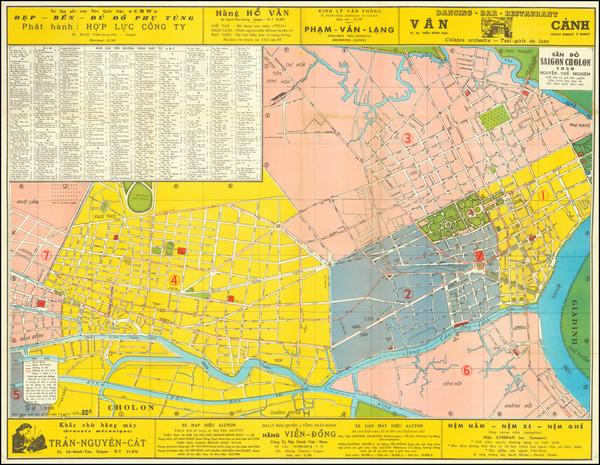 5-Thailand, Cambodia, Vietnam Map By Nguyễn Thế Nghiêm
