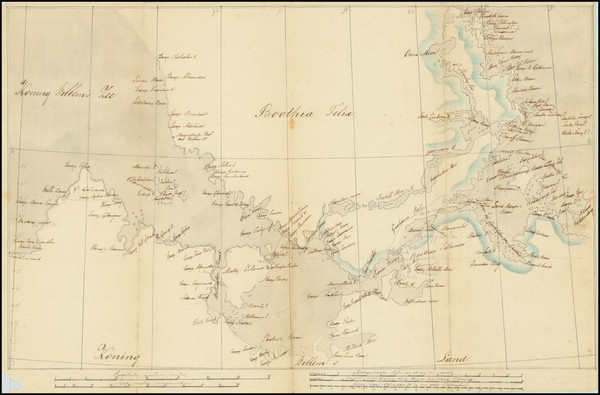 30-Polar Maps and Eastern Canada Map By Anonymous