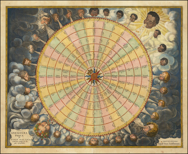 63-Celestial Maps and Curiosities Map By Jan Jansson