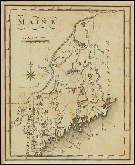61-Maine Map By Joseph Scott