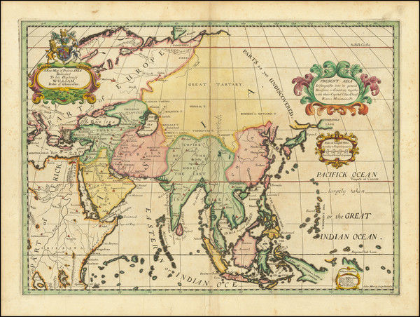 18-Asia Map By Edward Wells
