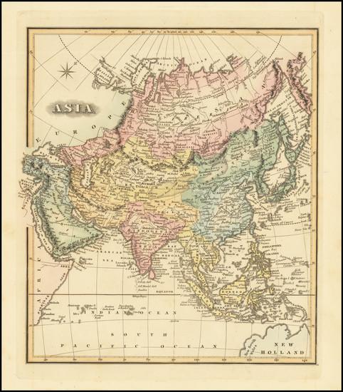 77-Asia Map By Fielding Lucas Jr.