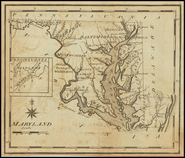 52-Maryland Map By Joseph Scott