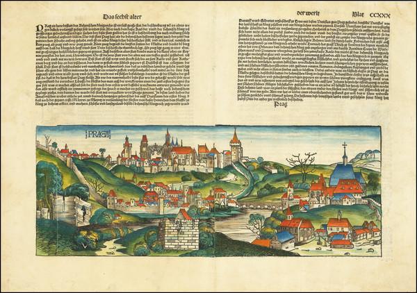 44-Czech Republic & Slovakia Map By Hartmann Schedel