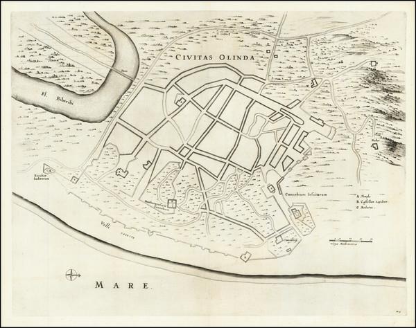 12-Brazil Map By Johannes Blaeu / Georg Marcgraf
