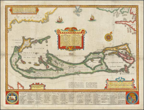44-Bermuda Map By John Speed