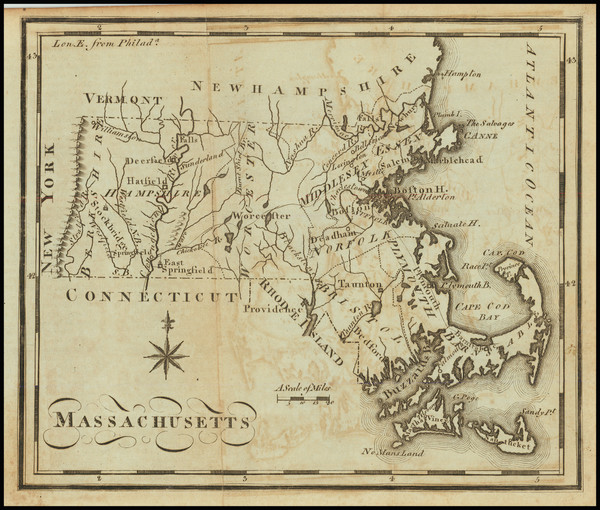 45-Massachusetts Map By Joseph Scott