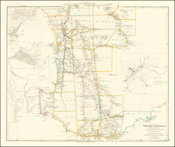 14-Australia Map By John Arrowsmith