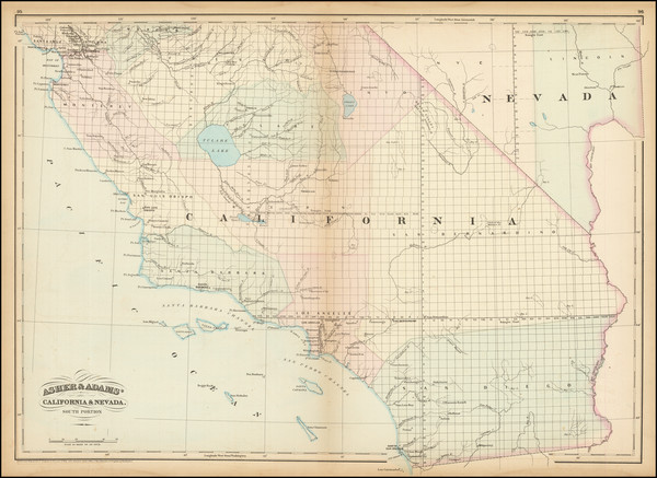 8-California Map By Asher  &  Adams