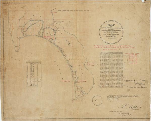 84-San Diego Map By Henry Hancock / L.L. Lockling