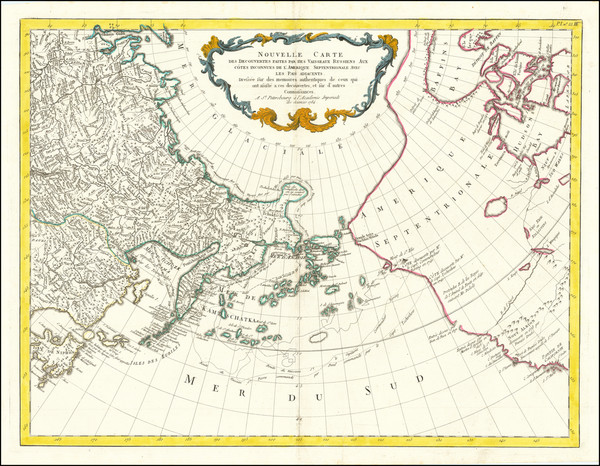 27-Alaska, Russia in Asia and Canada Map By Paolo Santini