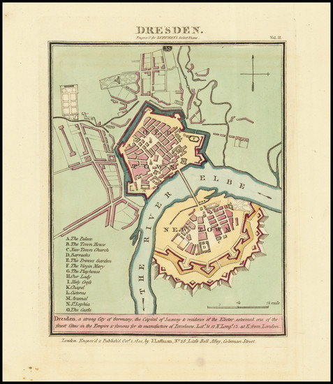86-German Cities Map By John Luffman