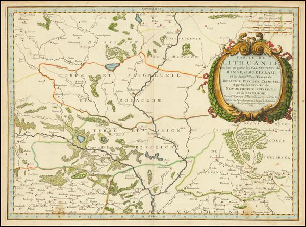 11-Russia and Ukraine Map By Nicolas Sanson