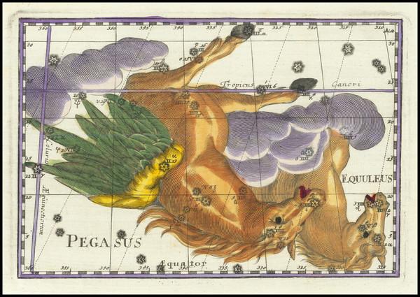61-Celestial Maps Map By Corbinianus Thomas