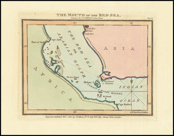 48-Arabian Peninsula and Egypt Map By John Luffman
